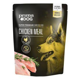 Konservuotas šunų maistas PRIMA DOG su vištiena,260 g