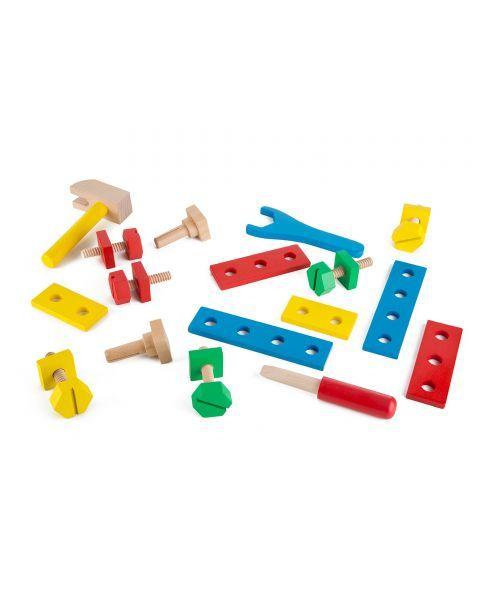 Medinis meistro įrankių dėžės rinkinys MELISSA & DOUG, 1 vnt. 8