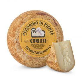"""Avių pieno sūris """"DI PIENZA ROSSO CUGUSI"""", brandintas40 dienų, 1kg"""