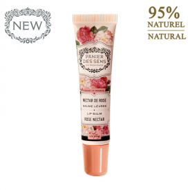 Lūpų balzamas PANIER DES SENS Rose Nectar, 15 ml