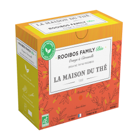 Ekologiška arbata LA MAISON DU THE Family Rooibos, 15 maišelių