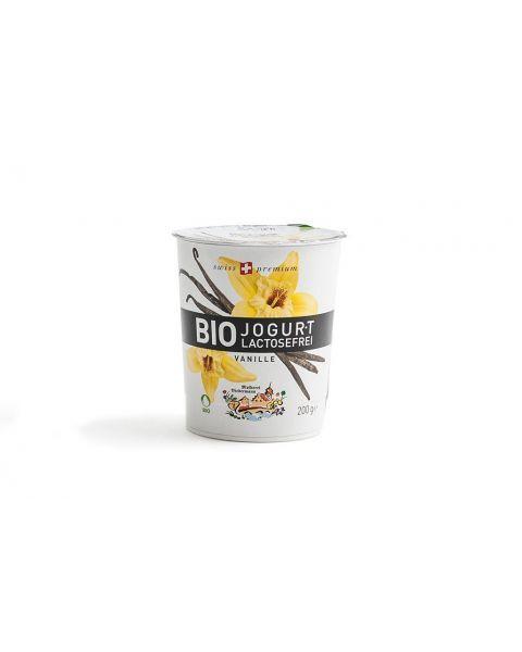 Ekologiškas jogurtas su vanile MOLKEREI, 3.5% rieb., be laktozės, 200g