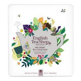 Ekologiškos arbatos rinkinys ENGLISH TEA SHOP Luxury, 72 maišeliai