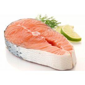 Atlantinių lašišų (Salmo Salar) didkepsniai, atšildyti,1 kg