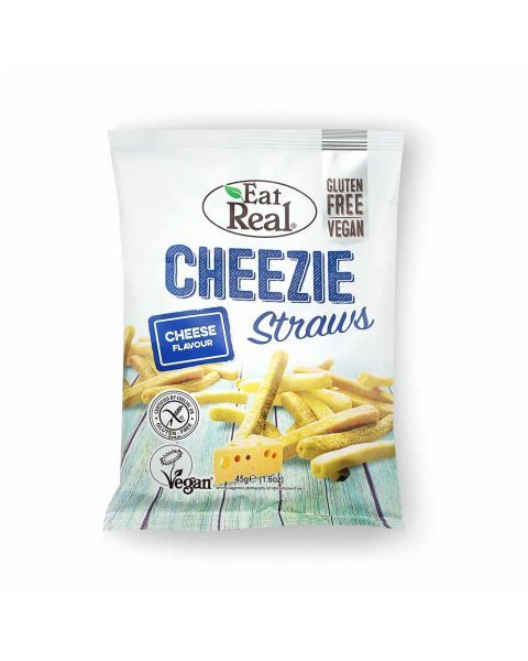 Bulvių traškučiai EAT REAL, sūrio skonio 45g