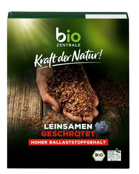 Ekologiški skaldyti linų sėmenys BIOZENTRALE, 200 g