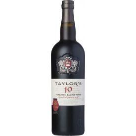 Raudonas vynas TAYLOR'S 10yr TAWNY PORT 20% 750ml, saldus