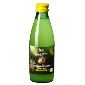 Ekologiškos citrinų sultys BIOZENTRALE, 250ml