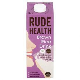 Rudųjų ryžių gėrimas RUDE HEALTH, 1L