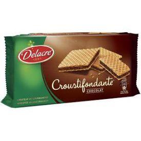 Vafliai DELACRE šokolado skonio, 150 g