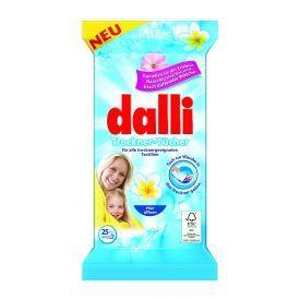 Malonaus aromato skalbinių džiovyklės servetėlės Dalli, 25 vnt