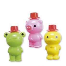 Burbulų buteliukai UNCLE BUBBLE (antytė, varlytė, kiaulytė), 1 vnt.