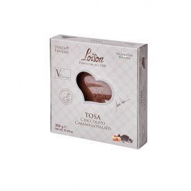 Šokoladinis pyragas LOISON TOSA su sūria karamele ir Mananaros vanile, 300 g