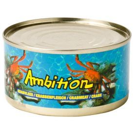 Konservuota krabų mėsa AMBITION, 170 g