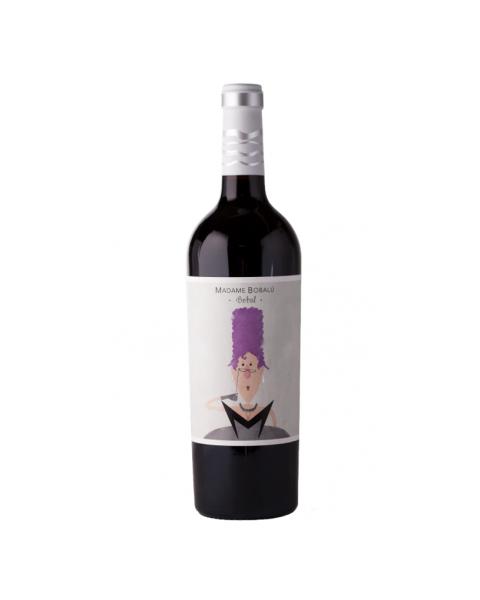 Raudonas sausas vynas BODEGAS VOLVER Madam Bobalu Boball Valencia D.O. 13%, 750ml