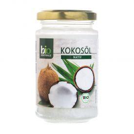 Ekologiškas šalto spaudimo kokosų aliejus BIOZENTRALE, 200 ml