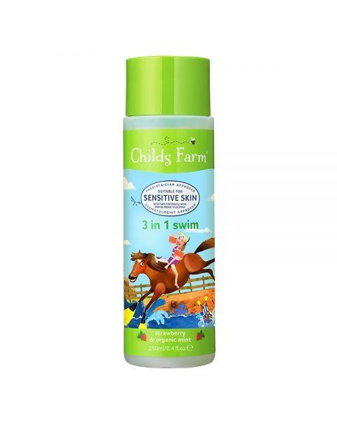Šampūnas, kondicionierius ir kūno prausiklis vaikams CHILDS FARM, 250 ml