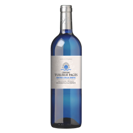Baltas sausas vynas Chateau Tuilerie-Pages 12%, 750ml