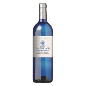 Baltas sausas vynas Chateau Tuilerie-Pages 12%, 750 ml
