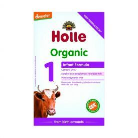 Ekologiškas pieno mišinys HOLLE kūdikiams nuo gimimo, 400 g