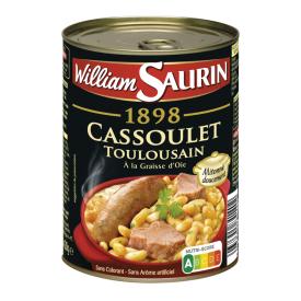 Kiaulienos troškinys Toulousain WILLIAM SAURIN su žąsų taukais, 420 g