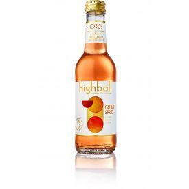 Nealkoholinis kokteilis HIGHBALL Italian Spritz 0%, 250 ml