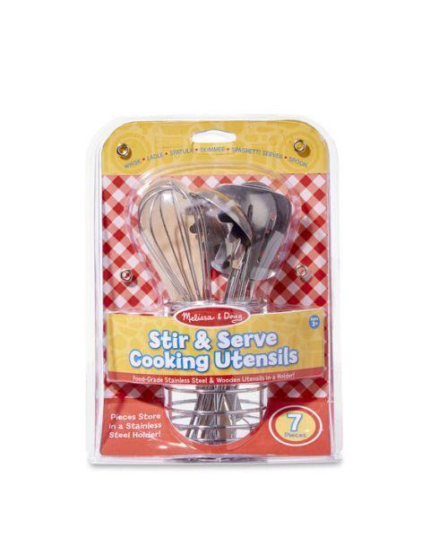 Žaislinis virtuvės įrankių rinkinys MELISSA & DOUG, 1 vnt.