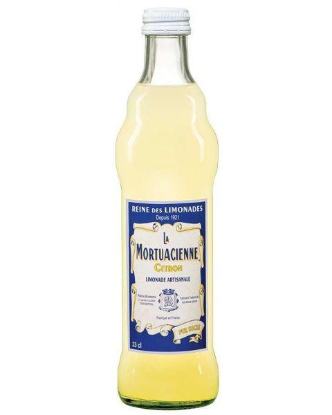 Gazuotas gaivusis gėrimas LA MORTUACIENNE,citrinų skonio, 330 ml