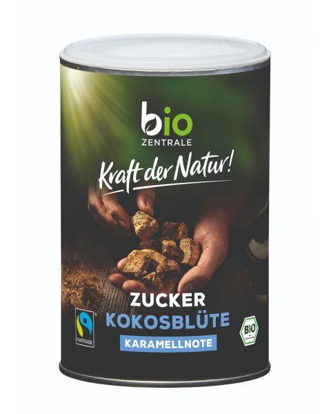 Ekologiškos kokosų žiedų cukrus Fair Trade BIOZENTRALE, 250 g