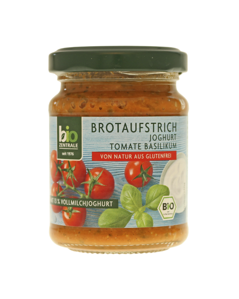 Ekologiška jogurtinė pomidorų užtepėlė BIOZENTRALE, 125 g