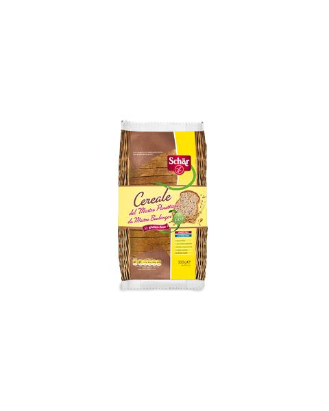Raikyta tamsi grūdų duona SCHAR Milly Maestro Cereale be gliuteno, 300 g
