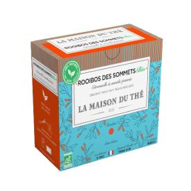 Ekologiška arbata LA MAISON DU THE Mountain Peaks Rooibos, 15 maišelių