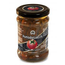 Saulėje džiovinti pomidorai DIE KASEMACHER, aliejuje stikle, 250 g