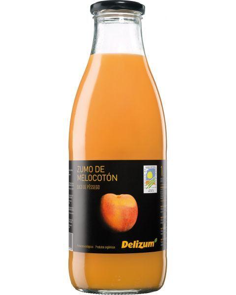 Ekologiškos persikų sultys DELIZUM, 750ml
