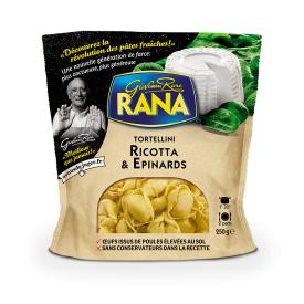 Tortelini su rikotos sūriu ir špinatais RANA, 250g