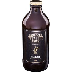 Kombučia VITALITY DRINK Tradicinio skonio, 355 ml