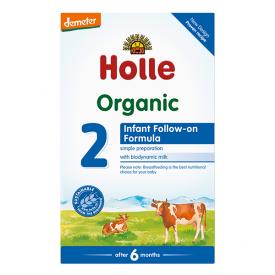 Ekologiškas pieno mišinys HOLLE kūdikiams nuo 6 mėn., 600 g