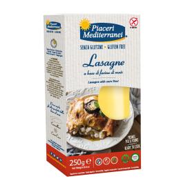 Kukurūzų makaronai Lazanijai PIACERI MEDITERRANEI, be gliuteno, 250 g