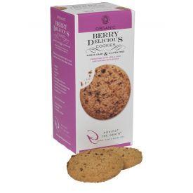 Ekologiški sausainiai AGAINST THE GRAIN su džiovintomis uogomis, 150 g