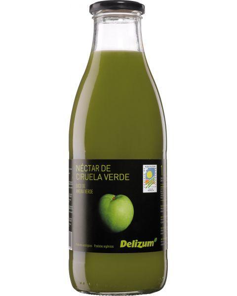 Ekologiškas žaliųjų slyvų nektaras DELIZUM, 750ml