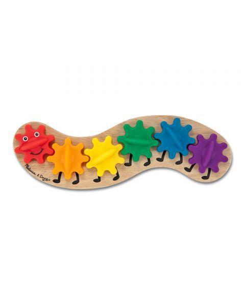 "Žaislas su dantračiais MELISSA & DOUG ""Caterpillar"", 1 vnt. 2"
