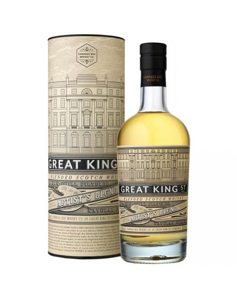 Škotiškas viskis Great King Street Artist's Blend COMPASS BOX 0.5L