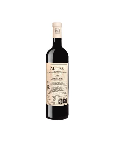 Ekologiškas raudonas vynas ALITER-IGT TOSCANA ROSSO,13%, 750 ml