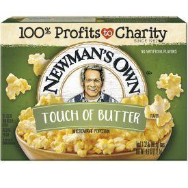 Spraginamieji sviesto skonio kukurūzai NEWMAN'S OWN, 272g.