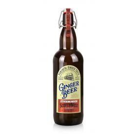 Gazuotas imbierų skonio gėrimas SCOTTY WEST ORIGINAL GINGER BEER, 1L butelis