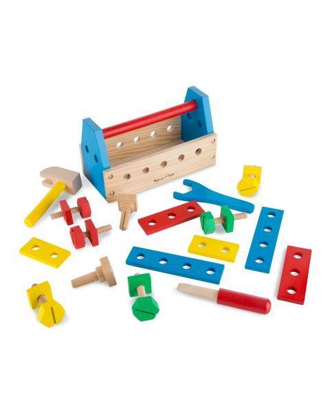 Medinis meistro įrankių dėžės rinkinys MELISSA & DOUG, 1 vnt. 7