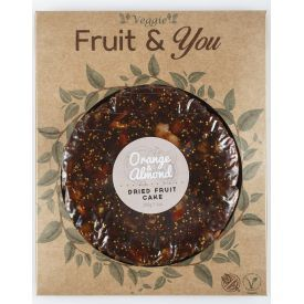 Vaisių ir migdolų pyragas FRUIT & YOU, 200 g