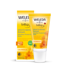 Apsauginis kremas vaikams nuo vėjo ir šalčio WELEDA su medetkų ekstraktu, 30 ml