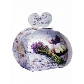 Muilas dovanoms ENGLISH SOAP Lavender, 3 x 20 g