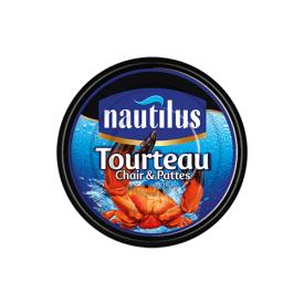 Konservuota krabų mėsa ir kojos NAUTILUS, 145 g